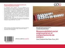 Portada del libro de Responsabilidad social empresarial en el comportamiento de compra