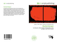 Bookcover of Rachel Berger