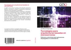 Capa do livro de Tecnologías para arquitecturas basadas en microservicios