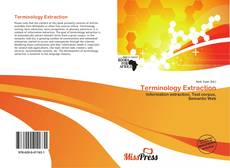 Bookcover of Terminology Extraction