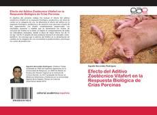 Capa do livro de Efecto del Aditivo Zootécnico Vitafert en la Respuesta Biológica de Crías Porcinas