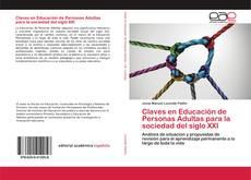 Portada del libro de Claves en Educación de Personas Adultas para la sociedad del siglo XXI