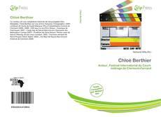 Buchcover von Chloé Berthier
