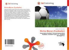 Richie Moran (Footballer)的封面
