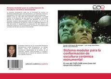 Portada del libro de Sistema modular para la conformación de escultura cerámica monumental