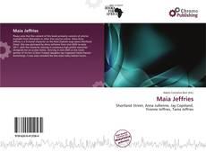 Capa do livro de Maia Jeffries