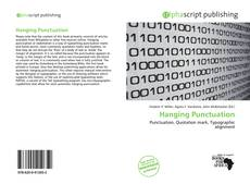 Bookcover of Hanging Punctuation