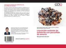 Portada del libro de Lixiviación oxidante de esfalerita con persulfato de amonio