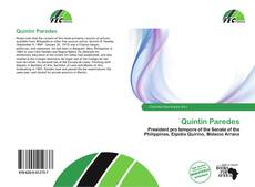 Bookcover of Quintin Paredes