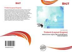 Portada del libro de Trident (Layout Engine)