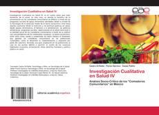 Portada del libro de Investigación Cualitativa en Salud IV