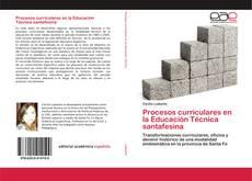 Procesos curriculares en la Educación Técnica santafesina kitap kapağı