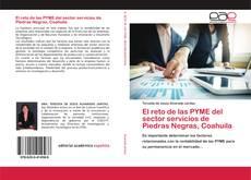 Bookcover of El reto de las PYME del sector servicios de Piedras Negras, Coahuila