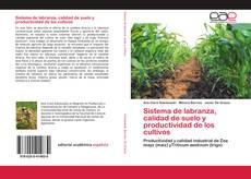 Portada del libro de Sistema de labranza, calidad de suelo y productividad de los cultivos
