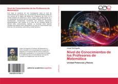 Buchcover von Nivel de Conocimientos de los Profesores de Matemática