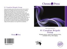 Bookcover of 41 Canadian Brigade Group