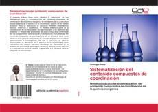 Sistematización del contenido compuestos de coordinación kitap kapağı