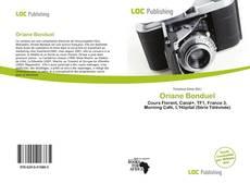 Oriane Bonduel kitap kapağı