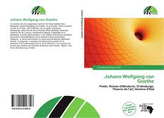 Buchcover von Johann Wolfgang von Goethe