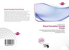 Bookcover of Royal Canadian Postal Corps