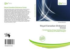 Capa do livro de Royal Canadian Ordnance Corps