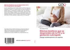 Capa do livro de Dilemas bioéticos que se desprenden de la FIV y la gestación subrogada