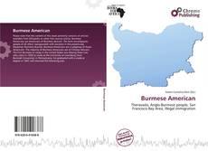 Bookcover of Burmese American