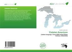 Portada del libro de Catalan American