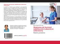 Buchcover von Síndrome de burnout satisfacción Laboral en enfermería