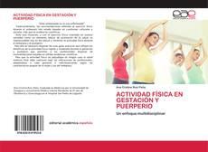 Capa do livro de ACTIVIDAD FÍSICA EN GESTACIÓN Y PUERPERIO