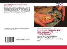 Borítókép a  CULTURA TRIBUTARIA Y OBLIGACIONES TRIBUTARIAS - hoz