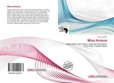 Bookcover of Misa Amane
