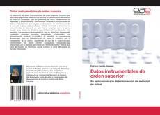 Couverture de Datos instrumentales de orden superior