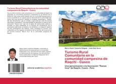 Bookcover of Turismo Rural Comunitario en la comunidad campesina de Raqchi - Cusco