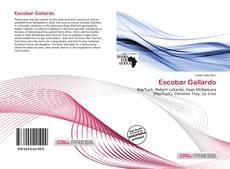Capa do livro de Escobar Gallardo