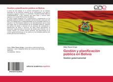 Portada del libro de Gestión y planificación pública en Bolivia