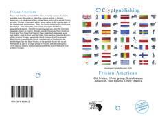 Portada del libro de Frisian American