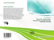 Psychic apparatus kitap kapağı