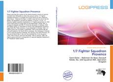 Bookcover of 1/7 Fighter Squadron Provence