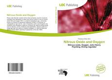 Couverture de Nitrous Oxide and Oxygen
