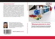 """Couverture de """"Bioequivalencia in vitro"""""""