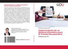 Capa do livro de Implementación de un Sistema Informático para El Trámite Documentario
