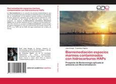 Обложка Biorremediación espacios marinos contaminados con hidrocarburos HAPs