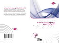 Couverture de Istituto Italiano per gli Studi Filosofici