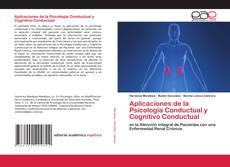 Buchcover von Aplicaciones de la Psicología Conductual y Cognitivo Conductual