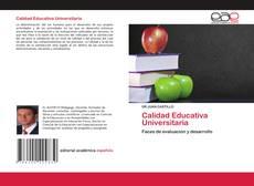 Portada del libro de Calidad Educativa Universitaria