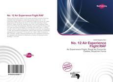 Buchcover von No. 12 Air Experience Flight RAF