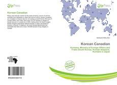 Bookcover of Korean Canadian