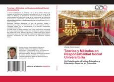 Portada del libro de Teorías y Métodos en Responsabilidad Social Universitaria