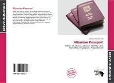 Bookcover of Albanian Passport